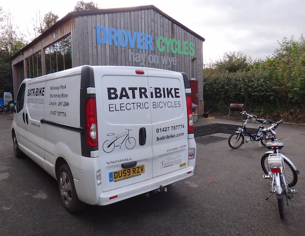 Electric Bikes, Hay-on-Wye, Powys