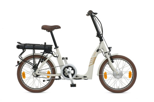 BATRIBIKE SIGMA | Super Low Step-Through | Hub Gears - nothing to catch when storing | Folding Electric Bike
