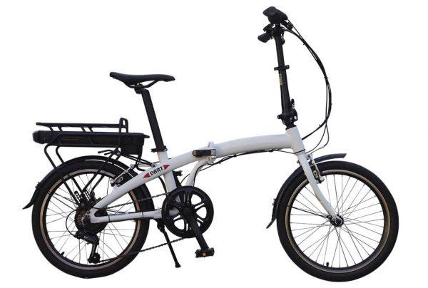 BATRIBIKE DART | Lightweight folding e-Bike| Unisex styling | Easy adjust handlebars