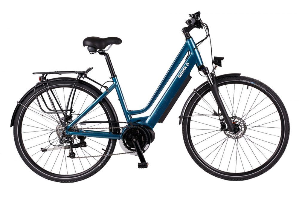 BATRIBIKE GAMMA-S   Step-Through style with Hidden Battery   High Torque Centre Motor   Stylish City Bike