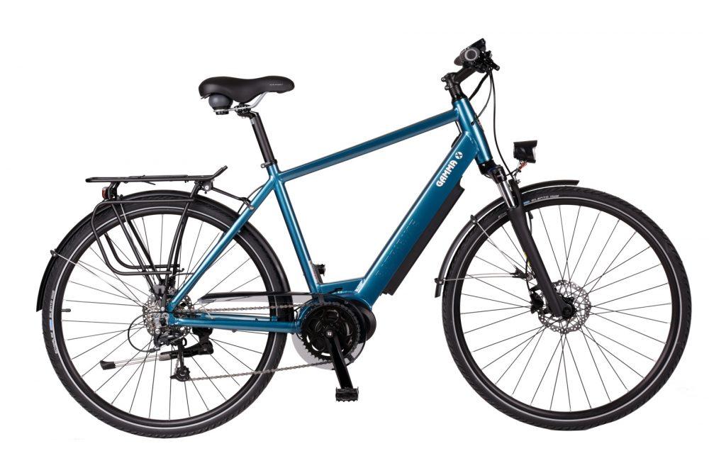 BATRIBIKE GAMMA-X   Step-Through style with Hidden Battery   High Torque Centre Motor   Stylish City Bike