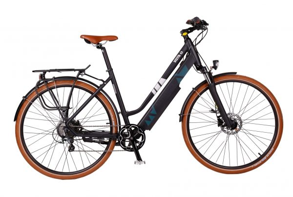 BATRIBIKE VISTA-S | Step-Through style with Hidden Battery | 10 Shimano Gears | Shimano hydraulic disc brakes
