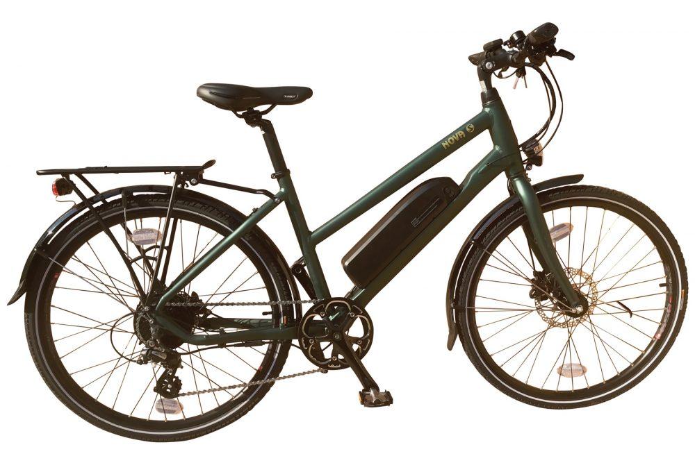 BATRIBIKE NOVA-S | Hybrid electric bike | Shimano hydraulic disc brakes | Trapeze Frame