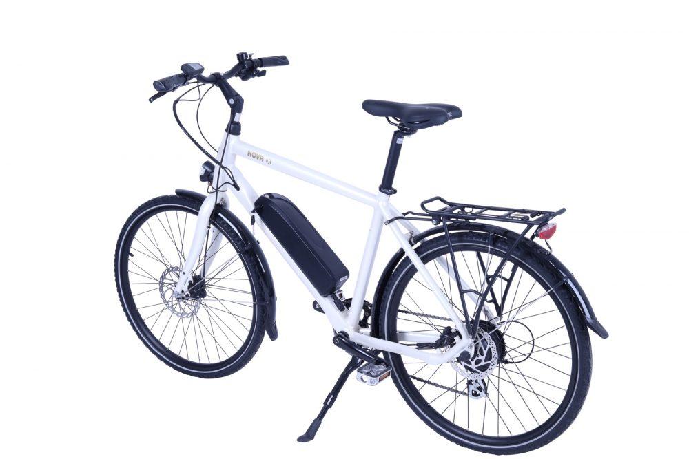 BATRIBIKE NOVA-X | Hybrid electric bike | Shimano hydraulic disc brakes | Crossbar e-Bike