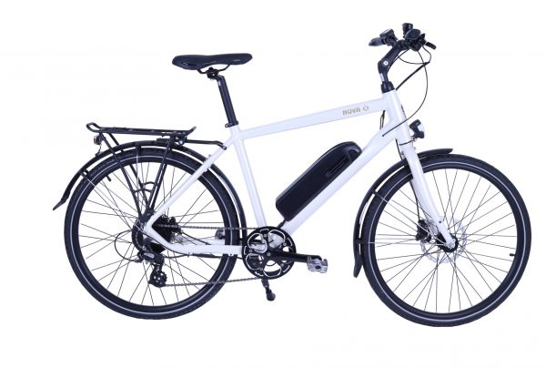 BATRIBIKE NOVA-X | Hybrid electric bike | Shimano hydraulic disc brakes | Crossbar e-Bike