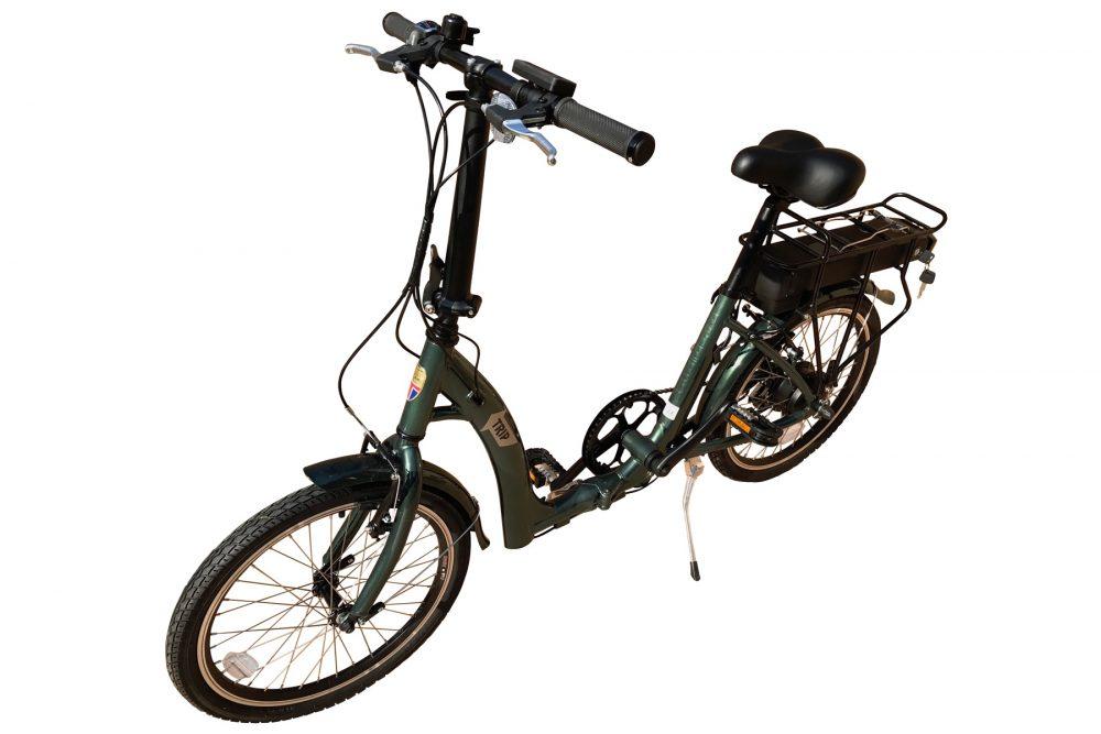 BATRIBIKE TRIP | Folding Electric Bike | Super Low Step-Through | Rear Hub Motor