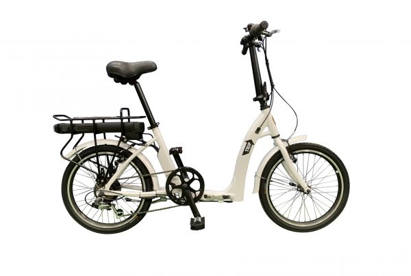 BATRIBIKE TRIP | Folding Electric Bike | Super Low Step-Through | Rear Hub Motor
