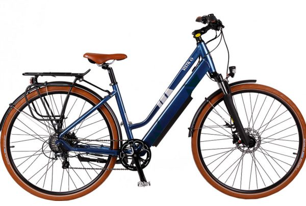 BATRIBIKE VISTA-S | Step-Through style with Hidden Battery | 8 gears | Shimano hydraulic disc brakes