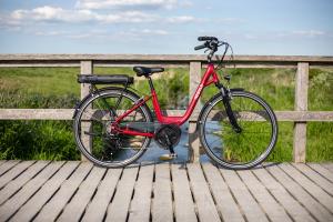 BATRIBIKE NEBULA | Step-Through style | High Torque Centre Motor | Stylish City e-Bike