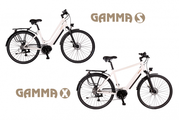 BATRIBIKE GAMMA | Step-Through style with Hidden Battery | High Torque Centre Motor | Stylish City Bike