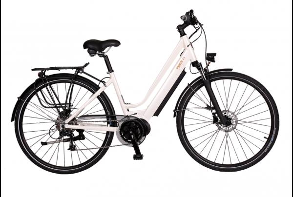 BATRIBIKE PENTA-S | Step-Through style with Hidden Battery | High Torque Centre Motor | Stylish City Bike