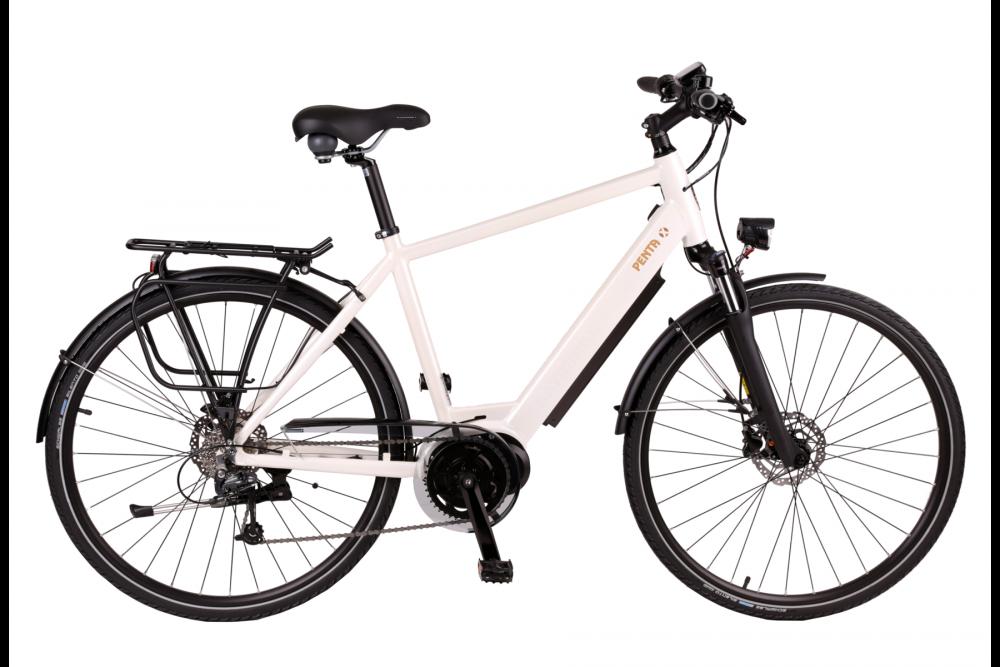 BATRIBIKE PENTA-X | Step-Through style with Hidden Battery | High Torque Centre Motor | Stylish City Bike