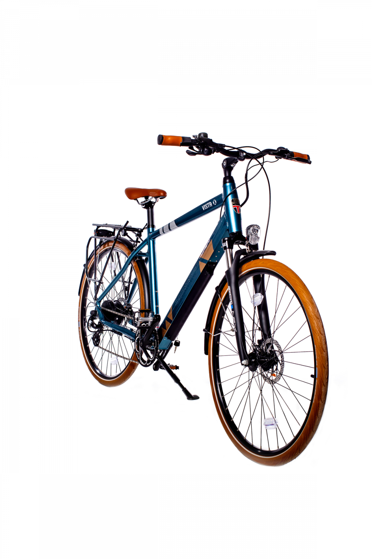 BATRIBIKE VISTA-X | Step-Through style with Hidden Battery | Shimano hydraulic disc brakes