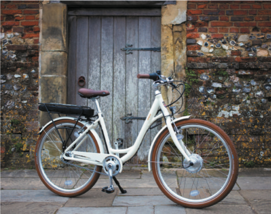BATRIBIKE OMEGA | Lightest in class | Low seat position, suits the shorter rider | Easy to use with 7 speed hub gears